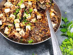 cuisiner tofu fumé poêlée de légumes et tofu fumé au quinoa et au sirop d érable valebio