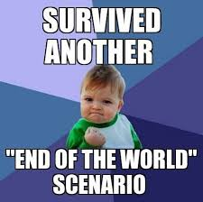 Meme End Of The World - end of the world scenario funny meme funny memes