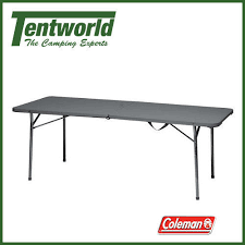 4 foot fold in half table coleman 4 foot folding table black 6 ft ebay