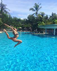 padma legian resort in bali neyu ma my second favorite is the infinity pool with sea views the views are not direct as there is a street between the hotel and the beach but the sea breeze