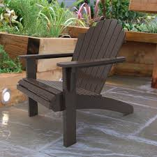 Plants For Patio by Dark Brown Adirondack Chair For Patio Design With Concrete