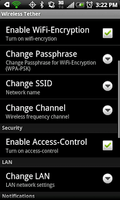 wifi tether for root users apk free android wifi tether for root users app now supports wpa2 and