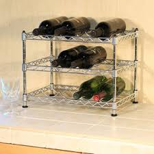 black wine racks you u0027ll love wayfair