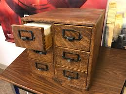 Library Catalog Cabinet 20 Vintage Oak Card Catalog From Local Library Book Sale These