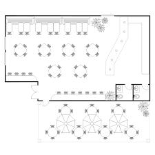 restuarant floor plan coffee shop floor plan