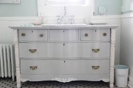master vanity bowfront dresser made into vanity diy dresser into