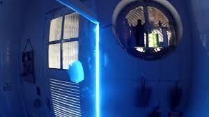 led strip diy bathroom glass door youtube