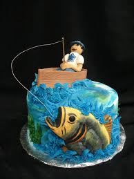 grab the catch of the day with this fishing groom u0027s cake the