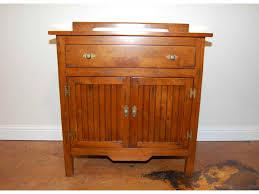 bathroom brown wooden bathroom vanity with single drawer and