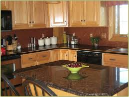 Backsplash Ideas For Kitchens With Granite Countertops Interior And Furniture Layouts Pictures Black Granite