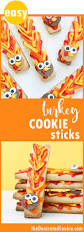 healthy thanksgiving treats for kids easy turkey decorated cookies