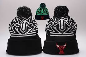 wholesale chicago bulls beanie hat black new era bullsbeanie005