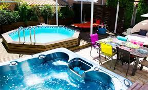 chambres d hotes agde naturiste la villa piscine terrasse jardin hérault
