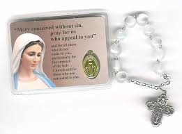 free rosaries free our of fatima medals prayer cards with italian decade