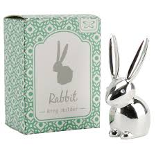 art glass rabbit ring holder images Home accessories for ladies festival gifts event gifts by jpg