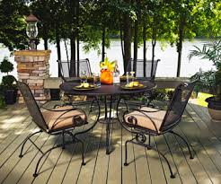 Iron Patio Table And Chairs Outdoor Furniture Christy Sports Patio Furniture