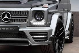 topcar voorziet mercedes g65 amg van de nodige mansory onderdelen