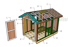 garden shed plan 8x12 garden shed plans howtospecialist how to build step by