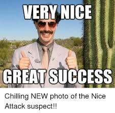 Borat Very Nice Meme - 25 best memes about borat very nice borat very nice memes