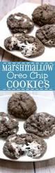 marshmallow oreo chip cookies recipe chocolate cookies oreos