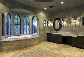 inspiring tile bathroom design in large size with brown and gray