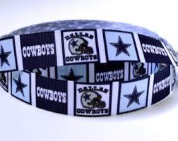 dallas cowboy ribbon dallas cowboys ribbon nfl ribbon cowboys grosgrain ribbon from