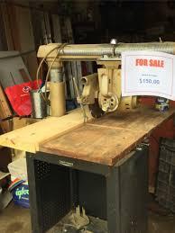 Craftsman Radial Arm Saw Table 1959 10