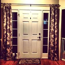 Side Panel Curtains Side Door Window Curtains Front Door Window Blinds Image Of Front