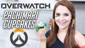 Nerdy Nummies Halloween Cakes Overwatch Pachimari Cupcakes Nerdy Nummies Youtube