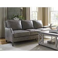 Gray Leather Sofa Unique Gray Leather Furniture 43 Modern Sofa Inspiration With Gray