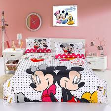 Toddler Minnie Mouse Bed Set Minnie Mouse Twin Bedding Set With Beautiful Decoration Twin Bed