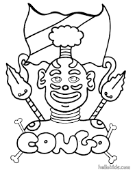 congo coloring pages hellokids com