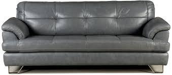 Omni Leather Furniture Gunter Thunder Sofa By Millennium Living Room Pinterest