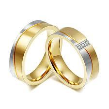 verlobungsringe paar billig daesar m nner frauen verlobungsringe edelstahl ring f r
