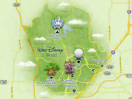 Disney World Epcot Map Maps Of Walt Disney World U0027s Parks And Resorts