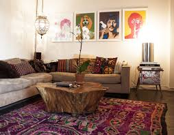 Moroccan Living Room Set by Bohemian Living Room Real Home Ideas