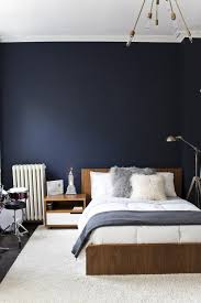 bedrooms alluring colour combination for bedroom navy blue wall