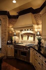 Faux Brick Kitchen Backsplash Faux Brick Veneer Backsplash Interior Excellent Stone Wall Walls
