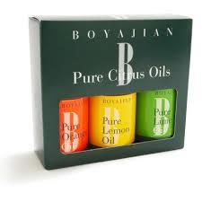 bitters kit sur la table boyajian assorted pure citrus oil set of 3 sur la table