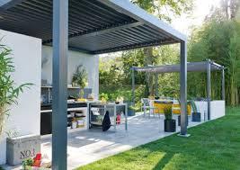 cuisine de jardin en la cuisine d extérieur de plus en plus tendance côté maison