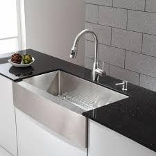 Kitchen Stainless Sinks Kitchen Sinks Prep Stainless Steel U Shaped Satin Chrome Copper