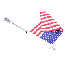 Flag Com Possbay Motorrad Vereinigte Staaten Flagge Usa Flag Mit Fahnenmast