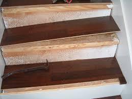 installing laminate stair treads