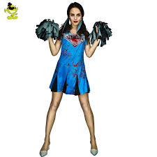 Dead Cheerleader Halloween Costume Aliexpress Buy Women U0027s Zombie Nurse Costumes Halloween
