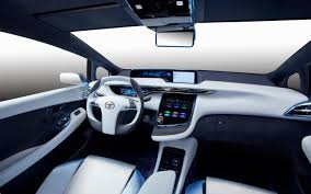 toyota highlander 2016 interior 2016 toyota fcv information and photos zombiedrive