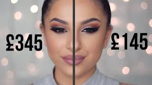 cheap dupes for high end makeup full face comparison youtube