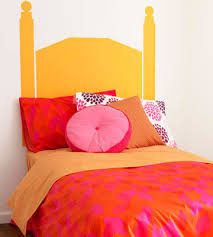 Painted Headboard Ideas Make Room For Two Creative Ways To Share A Bedroom
