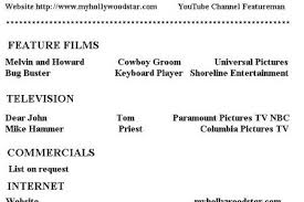 Sample Beginner Acting Resume by Acting Resume Examples Special Skills Friends In Development