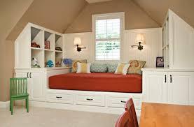 lit chambre enfant lit avec rangement idée créative pour les petits espaces