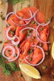 thanksgiving serving dishes smoked salmon platter